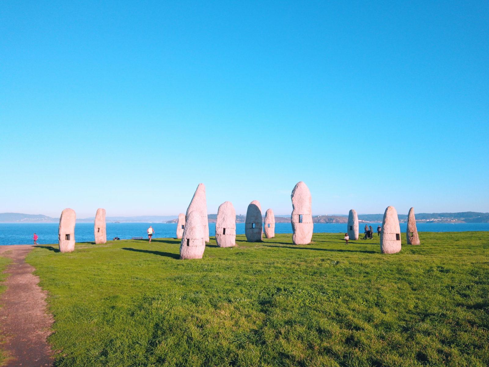 Paseo Menhires Coruña