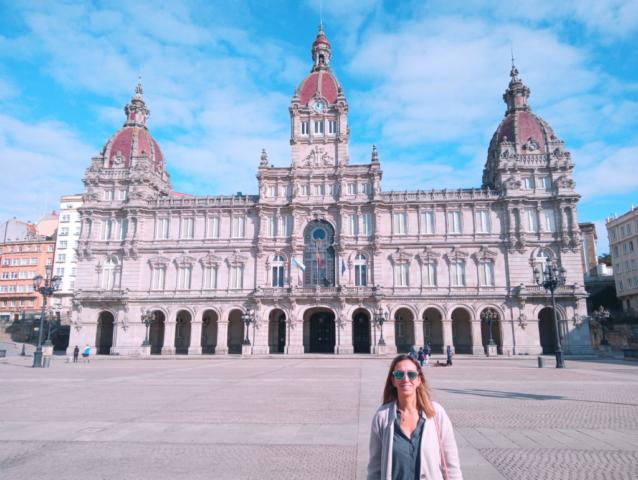 Que ver en Coruña Plaza Maria Pita