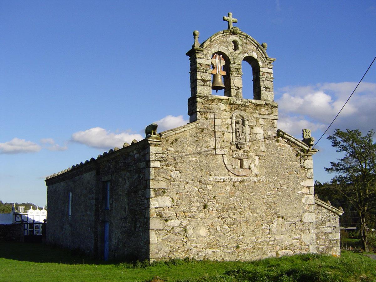 Que ver en O Vicedo iglesia Riobarba