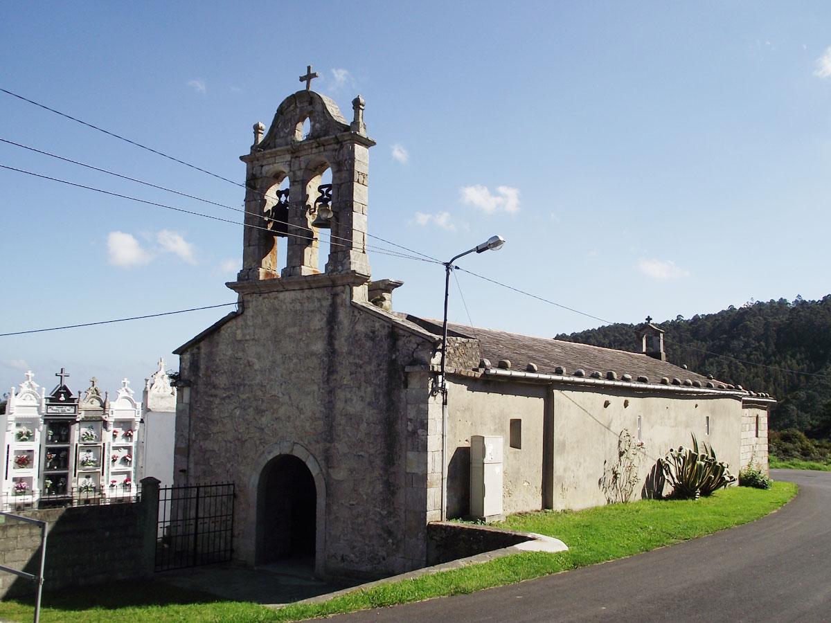 Que ver en O Vicedo iglesia san roman