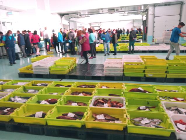 qué ver en Ribeira Lonja pescado
