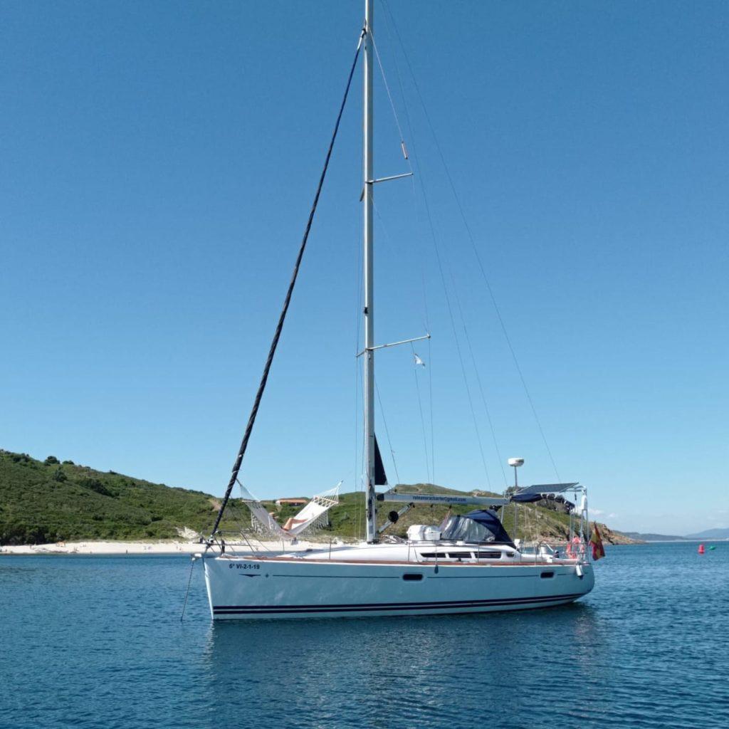 Alquiler velero a Ons