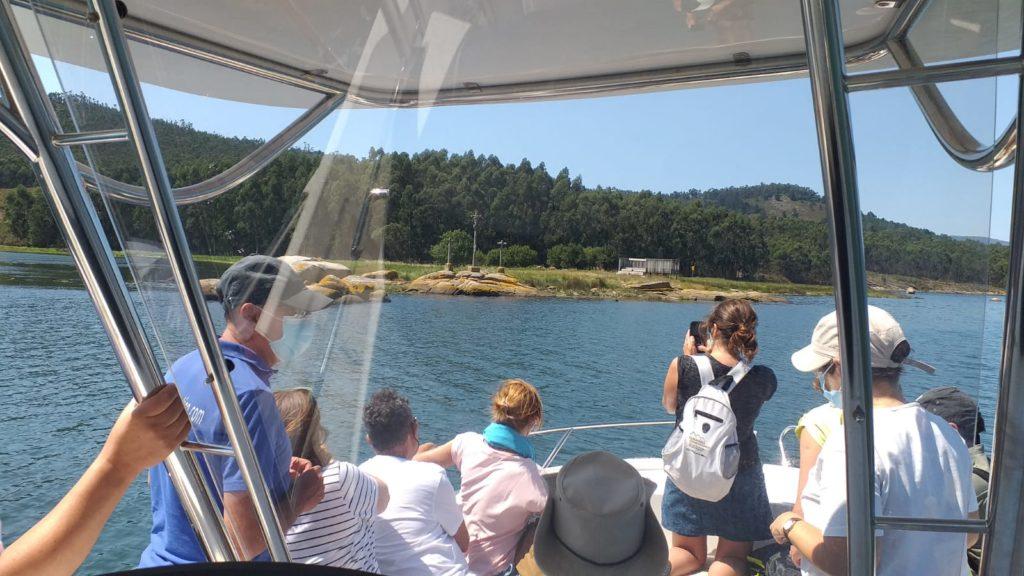 Camino de Santiago en barco