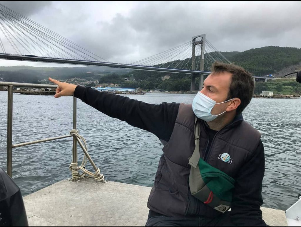 Ruta en barco por las bateas