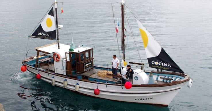 Ruta en barco tradicional por la ría de Arousa