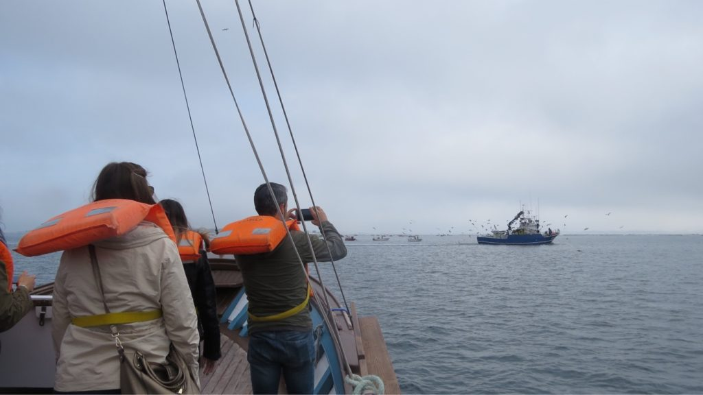 Ruta por la ría de Arousa en barco tradicional