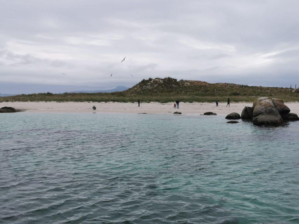 Visita a la isla de Areoso