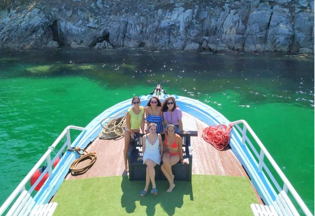 alquiler barco en Aldán