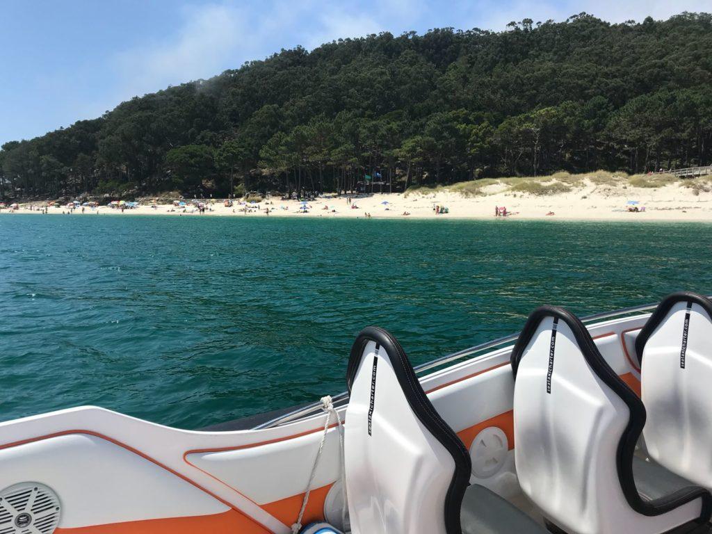 barco rápido a Cíes