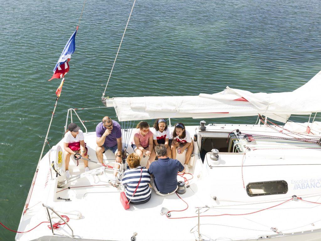 navegar en Baiona
