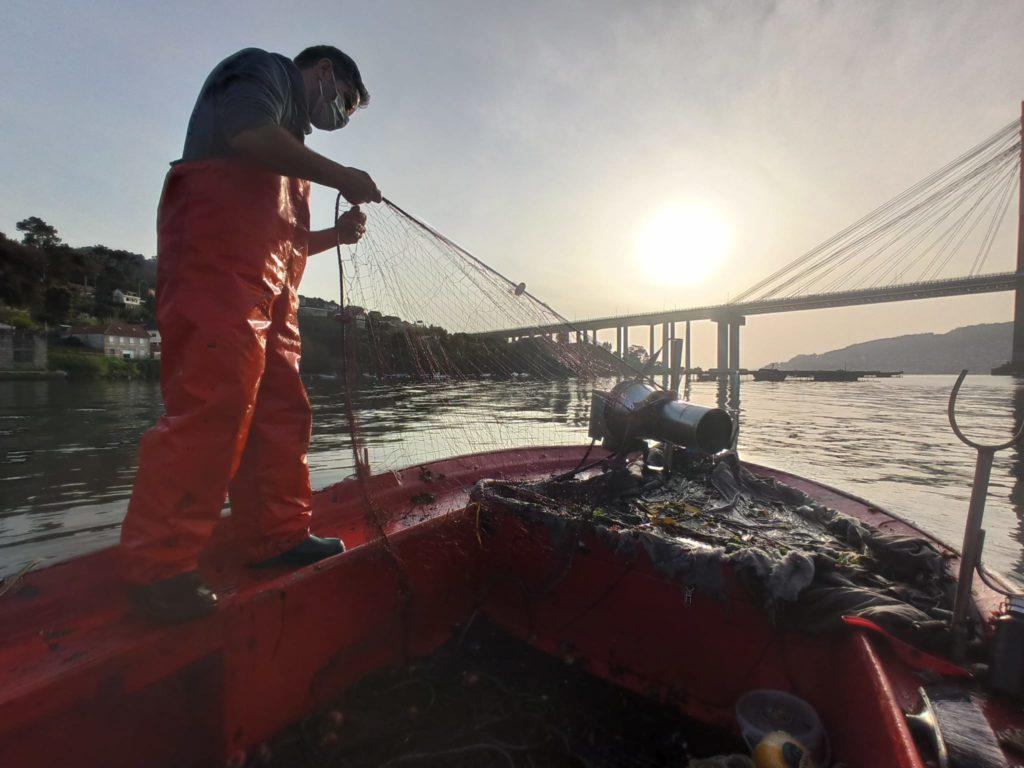 ruta de las artes de pesca en la ría de Vigo